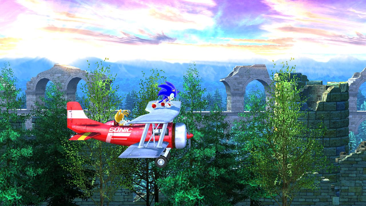 Sonic The Hedgehog Tornado Sonic The Hedgehog 4