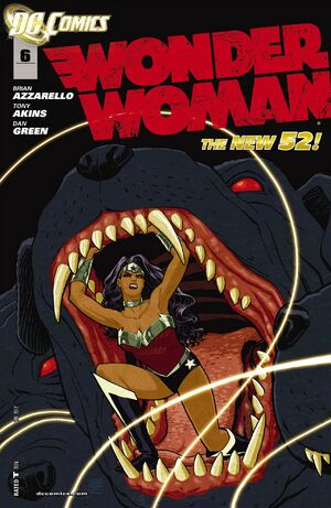 Cover for Wonder Woman #6 (2012)