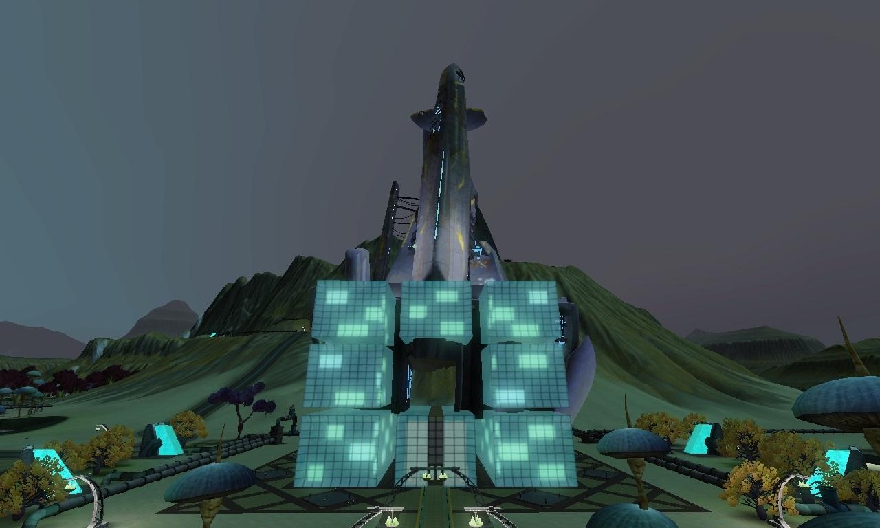 Sims  Eddit Science Building