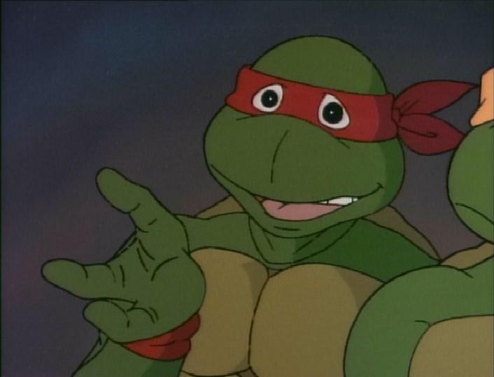 Raphael tmnt 1987