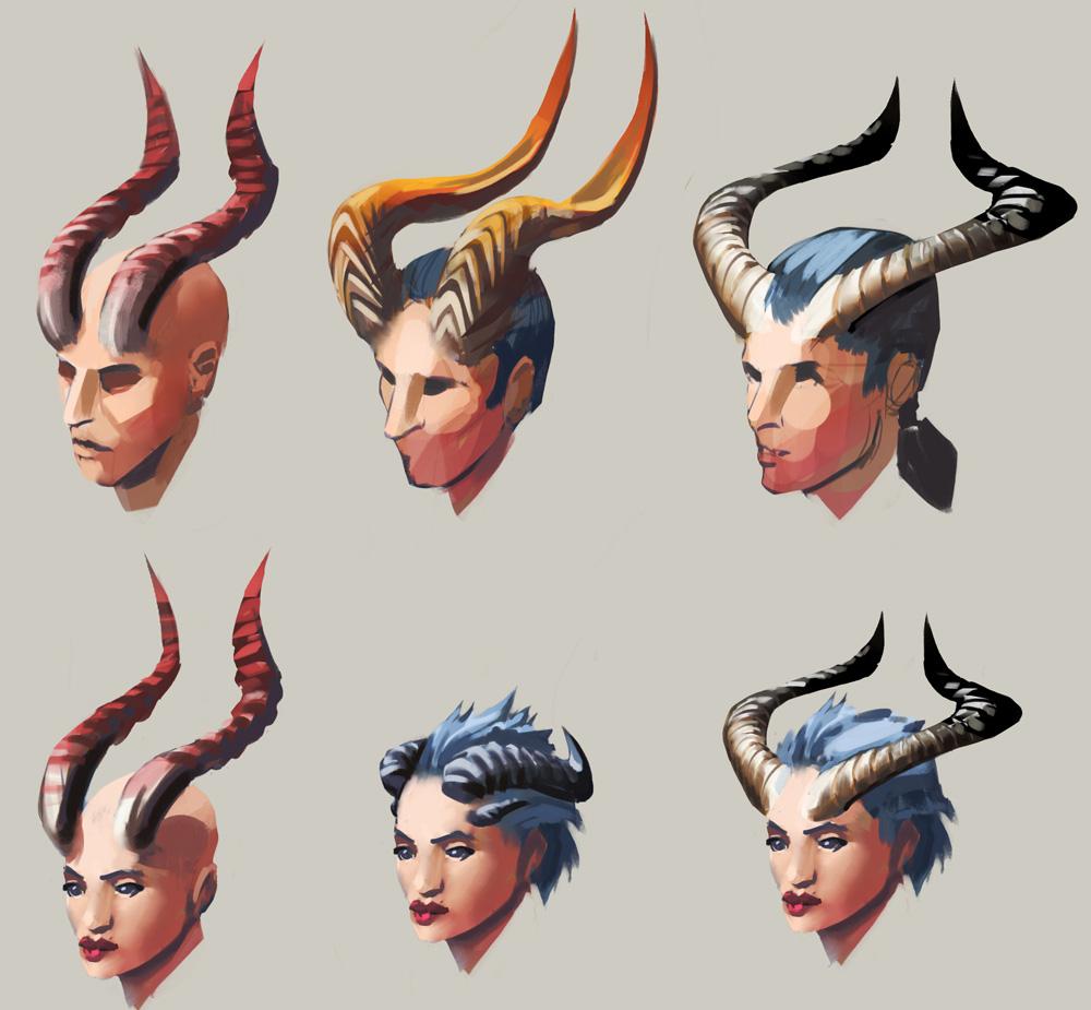 Vile Horns - The RuneScape Wiki Horns
