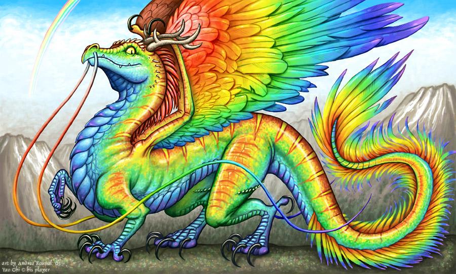 Dragonvale Rainbow Dra...