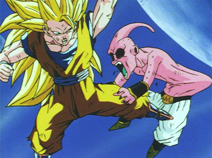 Super Saiyan 3Goku Vs Vegeta 100
