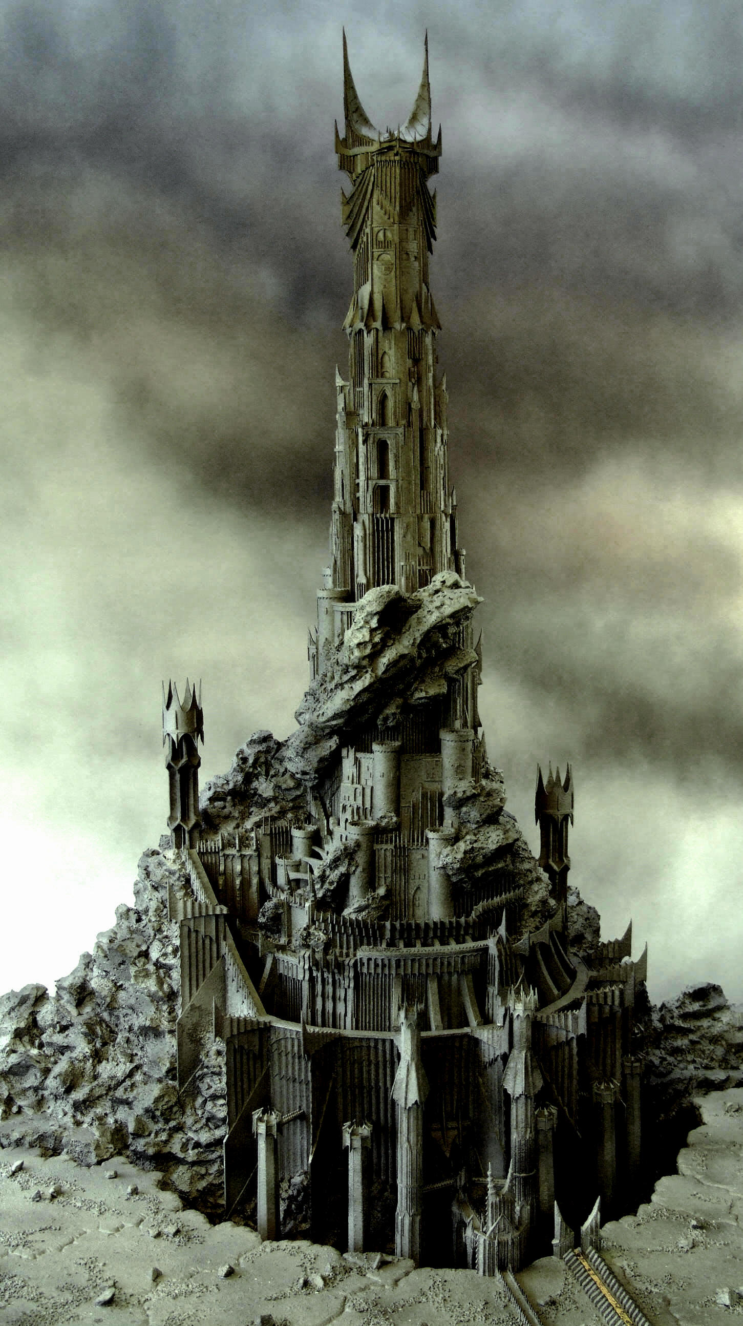 Barad-dûr - The One Wiki to Rule Them All - Wikia