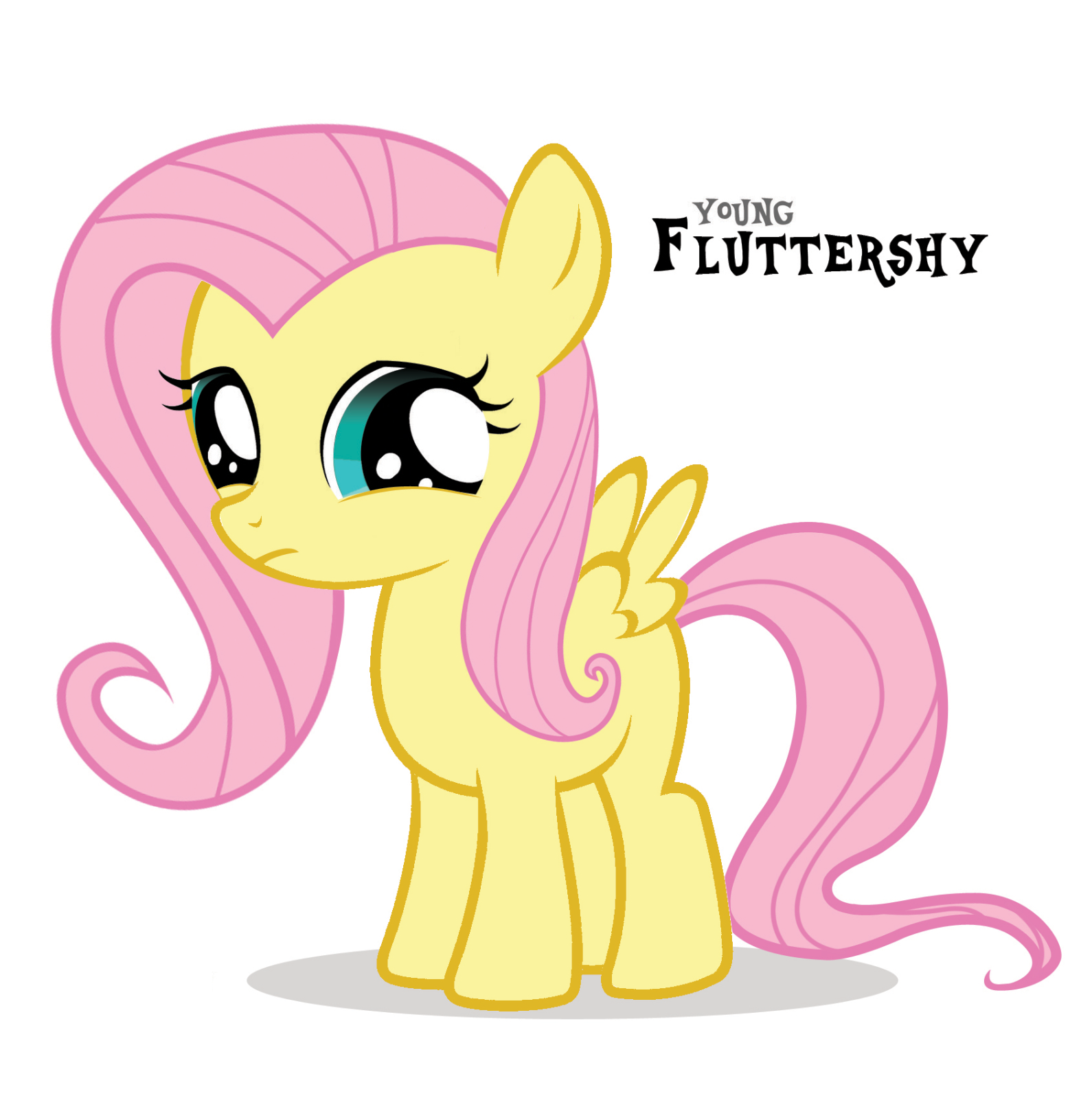 Fanmade Young Fluttershy Little Pony