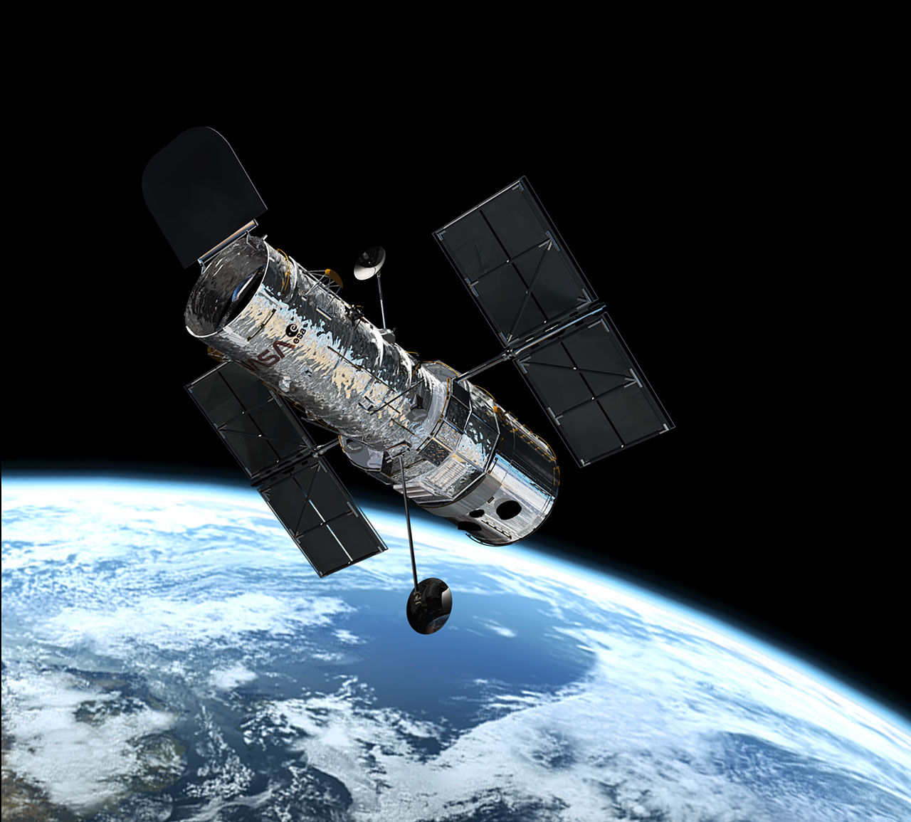 Hubble Telescope Images of Space The Hubble Space Telescope in