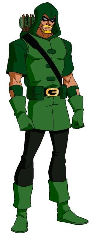 Green Arrow (Heroes of the Future) - Young Justice Fanon Wiki
