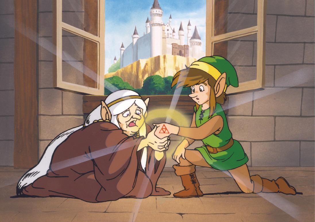 Art  237 culo principal  Zelda II  The Adventure of Link