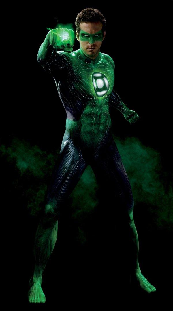 It is a graphic of Smart Pictures of Green Lantern