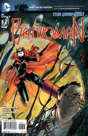 Cover for Batwoman #7 (2012)