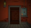 Комната металлического куба