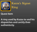 Kazza's Signet Ring