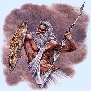 Vater Von Zeus Poseidon Und Hades
