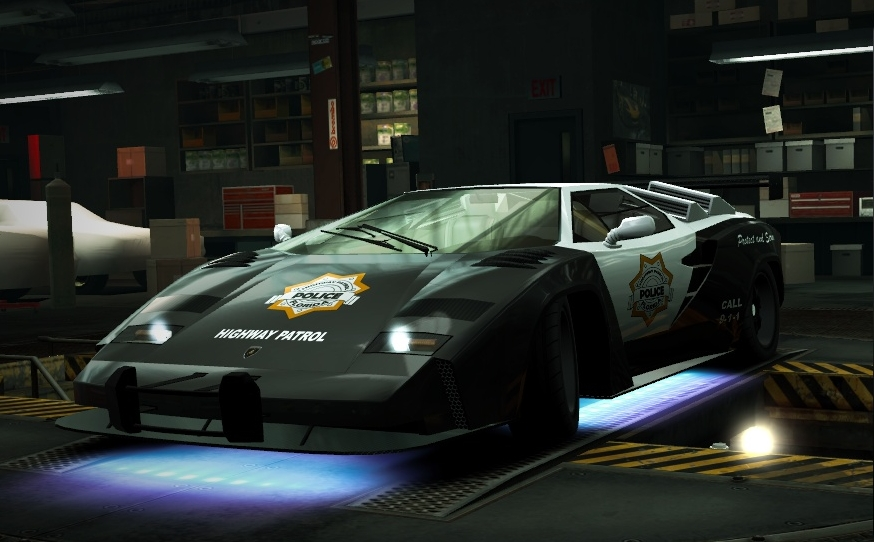 image nfs world lamborghini countach cop at the need for speed wiki need for. Black Bedroom Furniture Sets. Home Design Ideas
