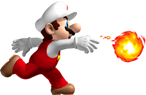 Fireball Mario 500px-fire_mario_artwork_-_new ...