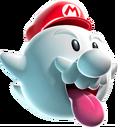 Boo Mario Artwork - Super Mario Galaxy.png