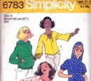 Simplicity 6783 B