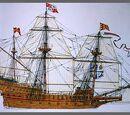The Spanish Armada ships