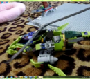 9443 Rattlecopter/Clone commander dominos