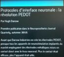 Protocoles d'interface neuronale : la révolution PEDOT