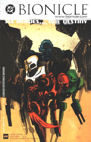 [Fan-Art] Coup de coeur : Nostalgieeeee Comic-con_2001_Bionicle_comic_-1_limited_collector_edition