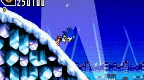 Sonic Advance 2 (GBA) Ice Paradise Zone