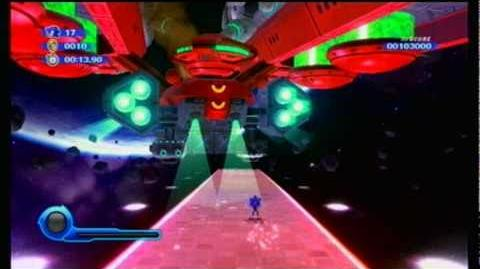 Sonic Colors - S Rank - (Boss) Asteroid Coaster