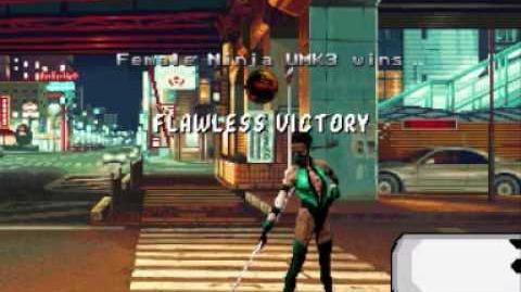 Female Ninja UMK3