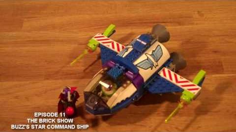 LEGO 7593 LEGO Toy Story Buzz's Star Command Ship Set Review
