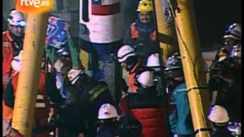 Chile rescata al quinto y más joven de los mineros
