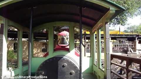 Big Thunder Mountain Railroad (Disneyland Park) - OnRide - (720p)