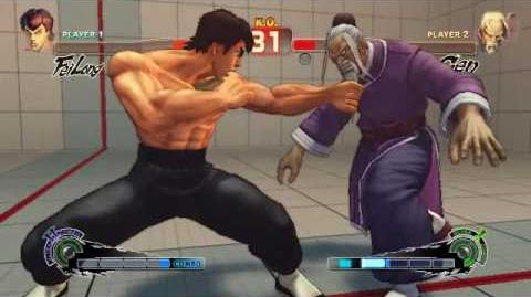 Super Street Fighter 4 - Fei Long Ultra 2 Gekirinken