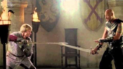 Showdown between Arthur and Helios