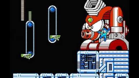 Mega Man 4 Boss Trick - Octopus Furnace (Wily 2)