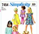 Simplicity 7454 A