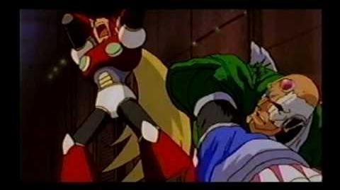 Mega Man X4 - Zero vs. Sigma (cutscene)