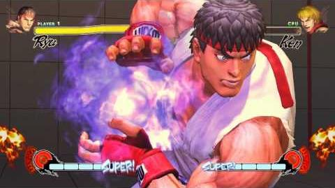 Street Fighter IV Cartoon Ryu voice mod demo (old)