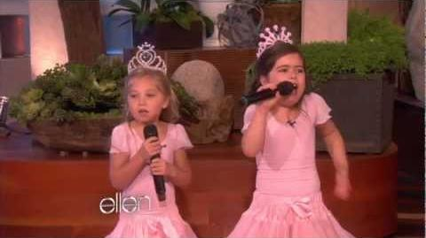 Sophia Grace's Show Stopping Performance!