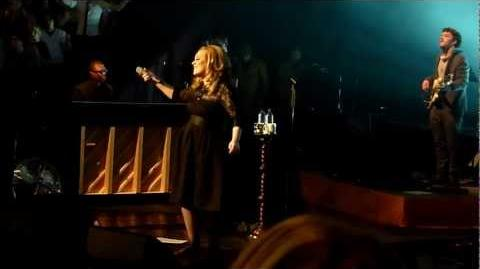 Adele - Rolling In The Deep live in Royal Albert Hall 22-09-2011 Finale