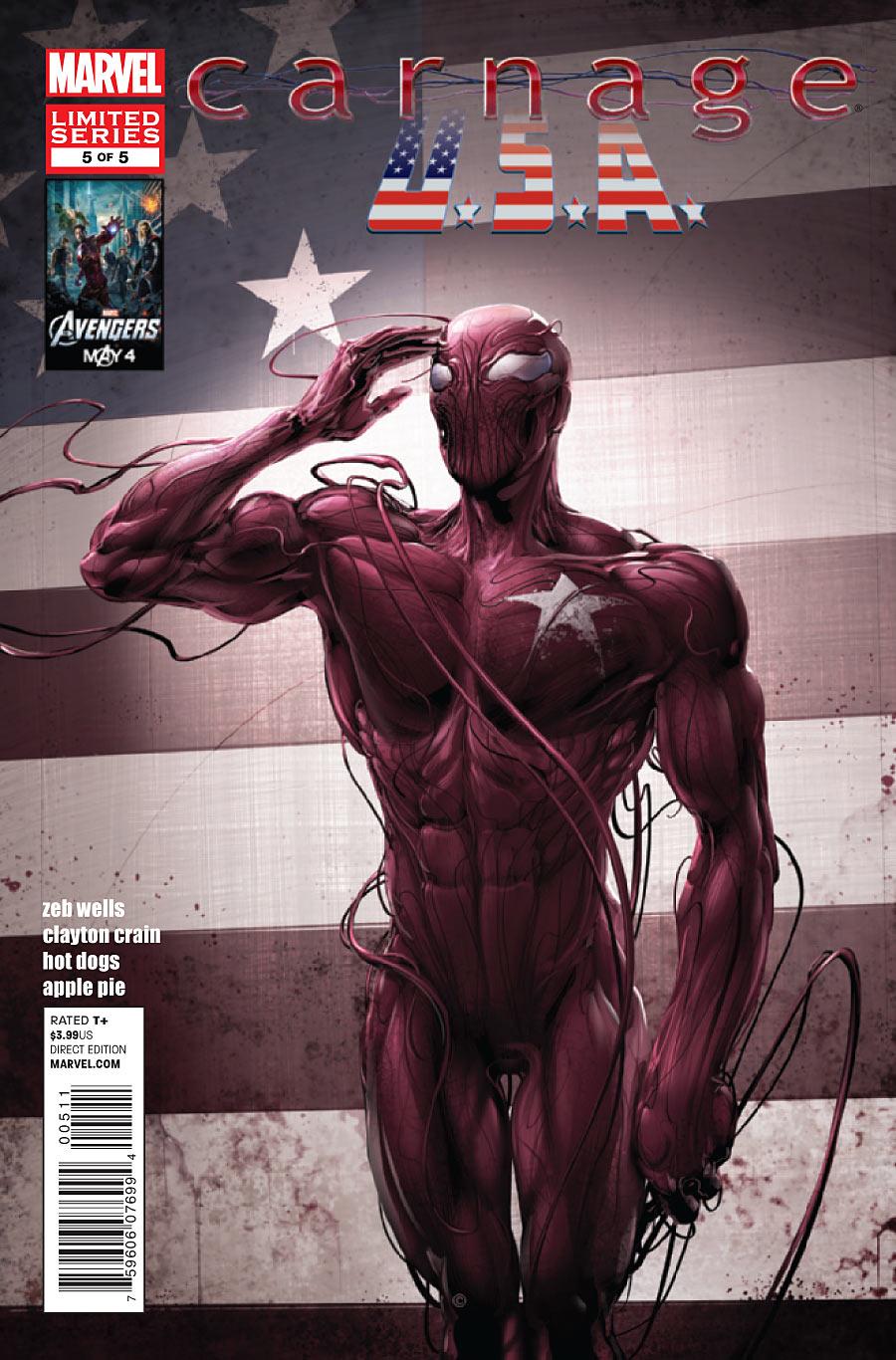 Carnage, U.S.A. Vol 1 5 - Marvel Comics Database