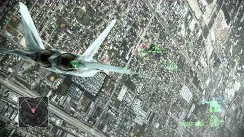 ACE COMBAT ASSAULT HORIZON -Coop Mission Miami- F-22A (MOBIUS 1) V.S PAK-FA (AKULA 1-4)