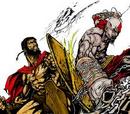 Duelo 1-Kratos vs. Leonidas