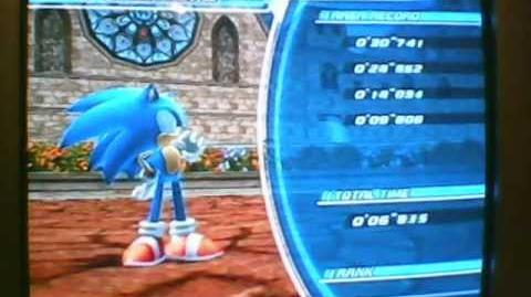 "Sonic Unleashed (Wii) Spagonia (Rooftop Run) Speedrun 1'59""830"