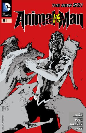 Cover for Animal Man #8 (2012)