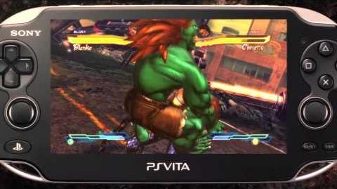 Street Fighter x Tekken Vita - Playstation Vita Trailer