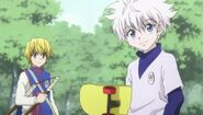 Kurapika and killua