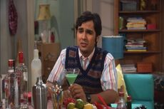 Raj complaining