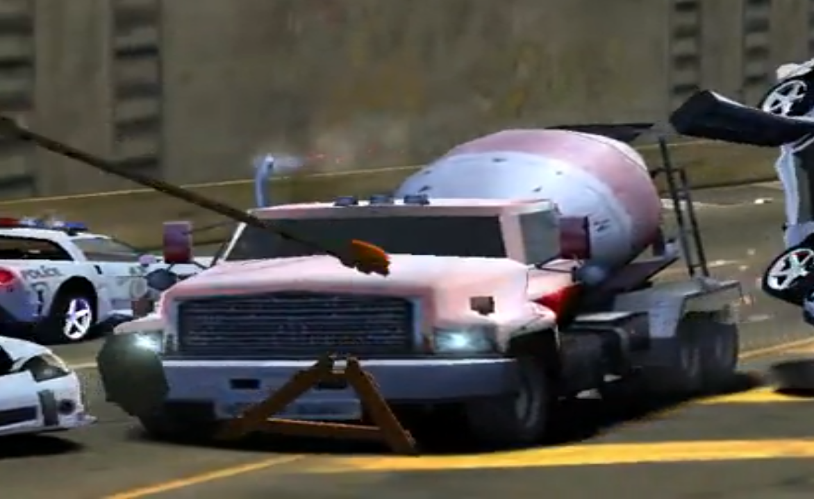 cement truck at the need for speed wiki need for speed. Black Bedroom Furniture Sets. Home Design Ideas