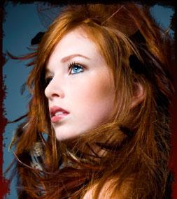Cheza, Alpha female of MM Red-hair-girl