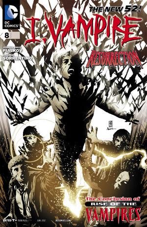 Cover for I, Vampire #8 (2012)